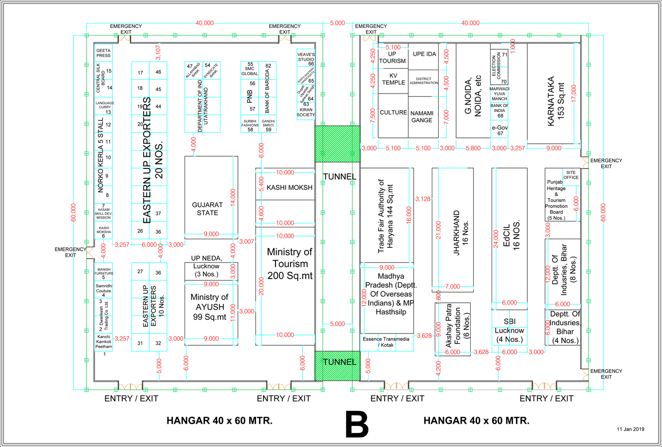Exhibition Layout Plan-B