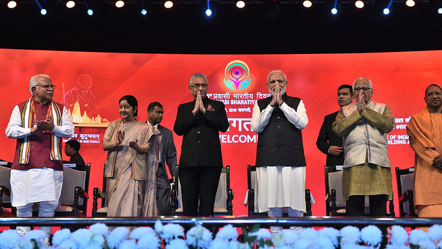 Inauguration of 15th Pravasi Bhartiya Divas Convention 2019 (January 22, 2019)