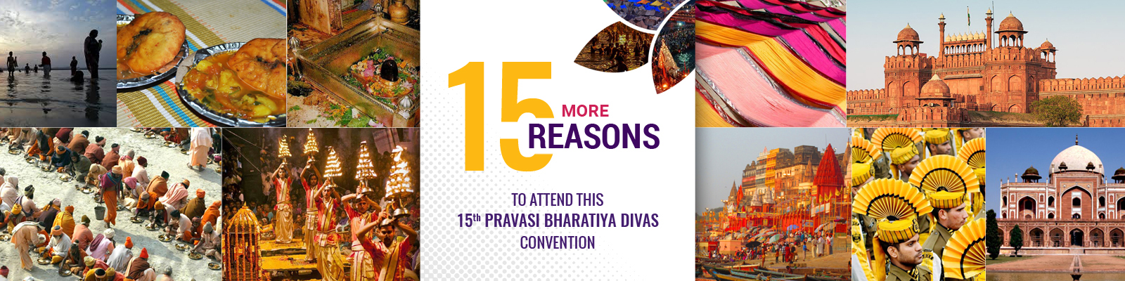15 reasons to visit Pravasi Bharatiya Divas