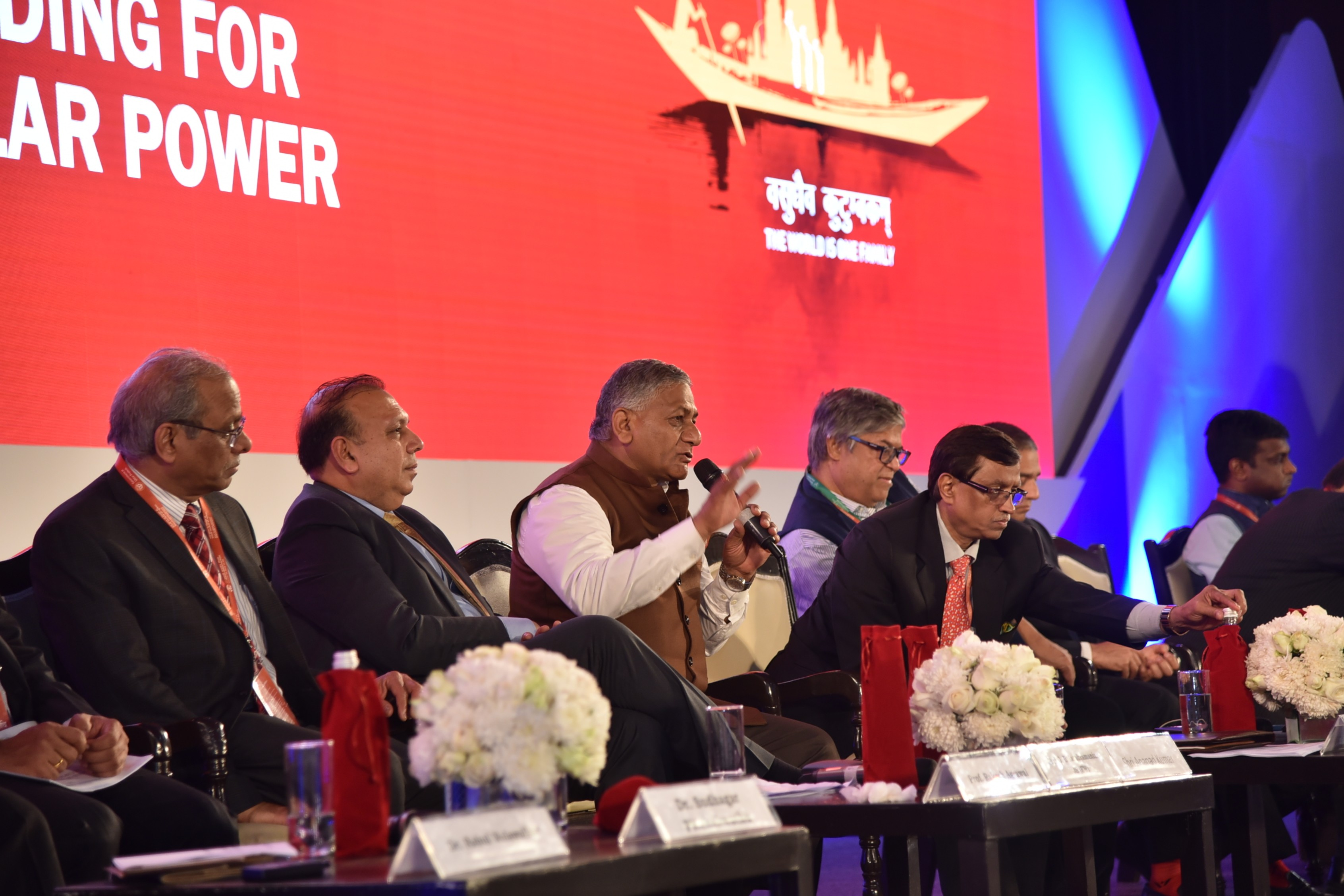 Plenary Session-ii- Role of India diaspora in capacity building for affordable solar power takes place in Varanasi,UP January-22-2019